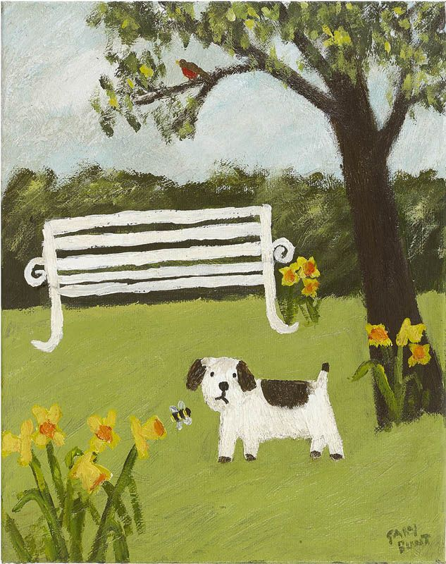 Buzzy Thing ~ I love it when the sun comes out I love it when it's spring I love the robin in the tree But not that buzzy thing  ~ Gary Bunt