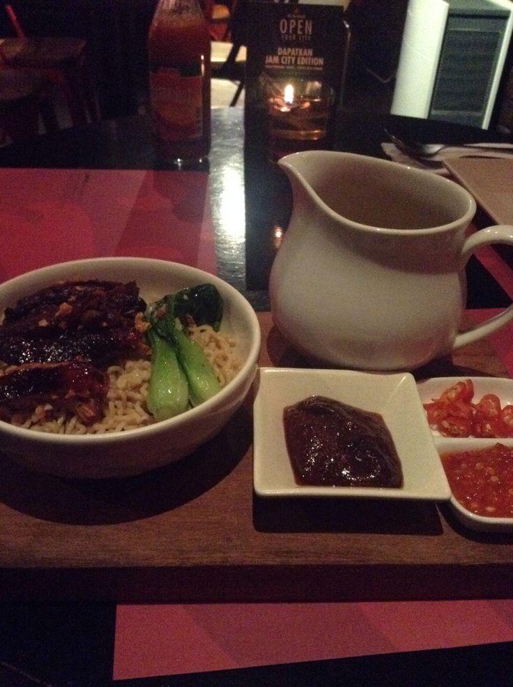 Duck nudle foodism senayan city