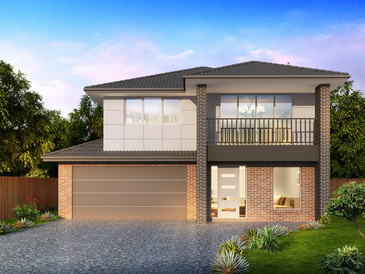 'Bellevue 309' By Orbit Homes. Designed with spacious living and practicality in mind, the Bellevue 309 ticks all the boxes for larger families #housedesigns #houseandland #newhomes #newbuild #perth #exterior #ideas #family