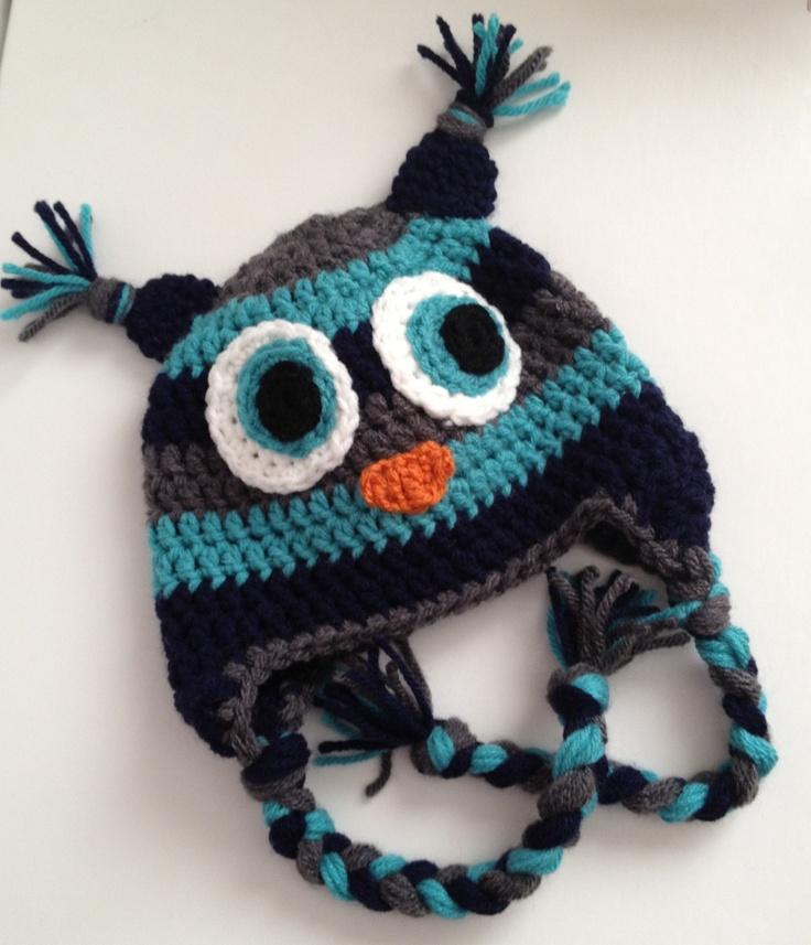 $30 baby boy owl hat