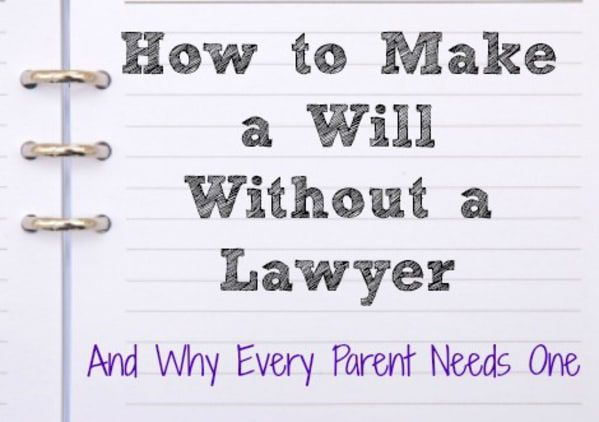 It's not something we like to think about, parents or otherwise, but it is a serious and imperative document to establish once you have kids. The #1 reason people put off making a will is the cost associated with it. I'm happy to tell you