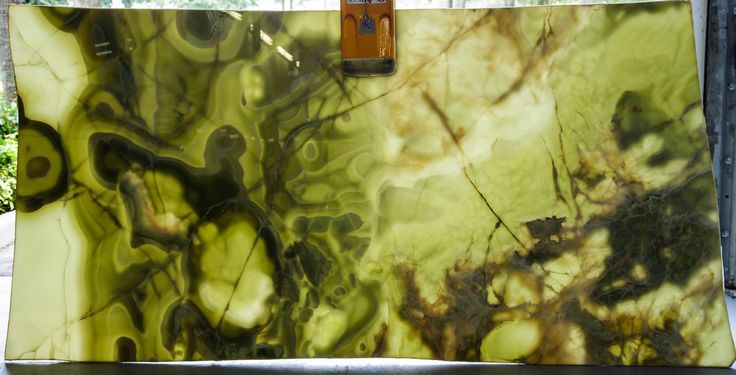 One of my favorites! Imagine this beautiful Onyx illuminated as a bar or counter tops! The possibilities are endless
