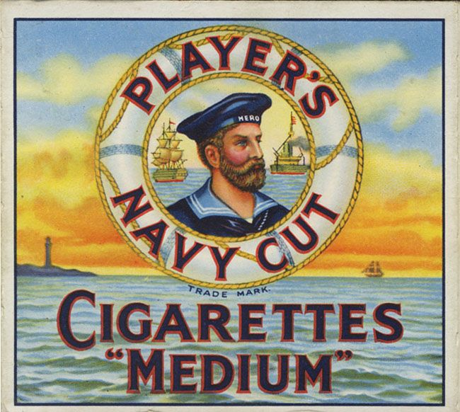 "HMS Hero – the Player's ""Navy Cut"" battleship"