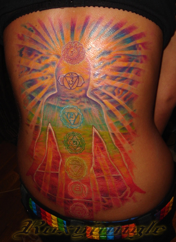 Heart Chakra Symbol Tattoo - #traffic-club