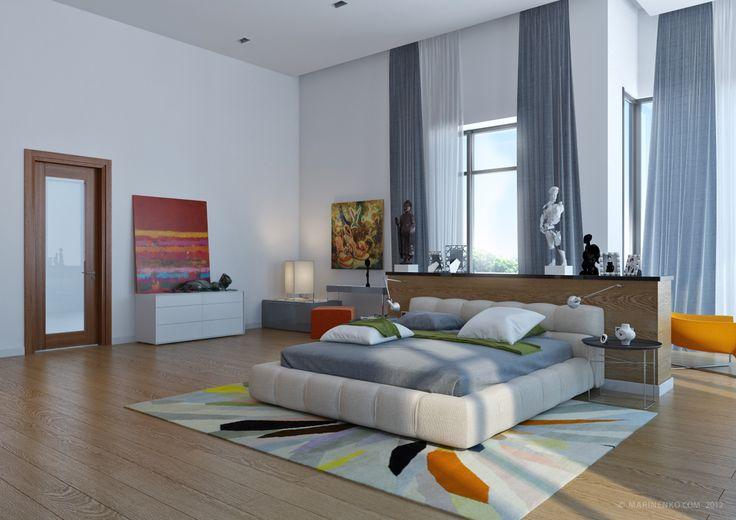 Gorgeous bedroom design with an illusive nightstand   www.bocadolobo.com #bocadolobo #luxuryfurniture #exclusivedesign #interiodesign #designideas #bedroomdesign #nightstandsideas #bedsidetabledesign #nightstandsideas #modernnightstands