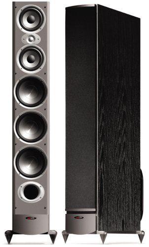 Polk Audio RTi12 High Output Floorstanding Loudspeaker (Single, Black)
