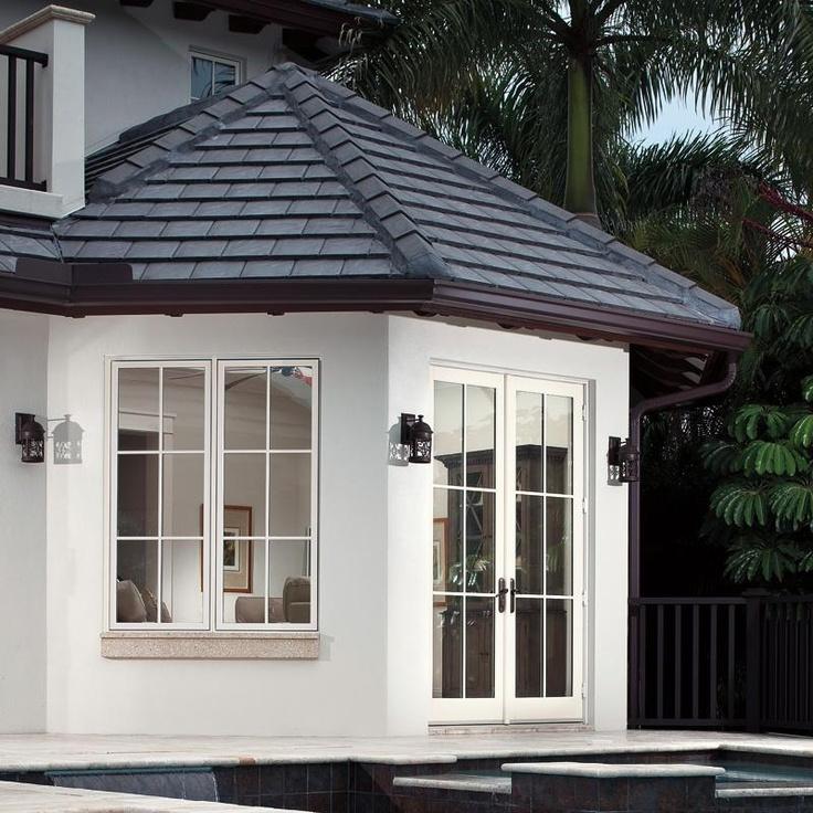15 best quality glass block windows images on pinterest - Exterior fiberglass french doors ...