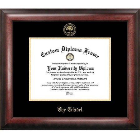 The Citadel 20 inch x 16 inch Gold Embossed Diploma Frame
