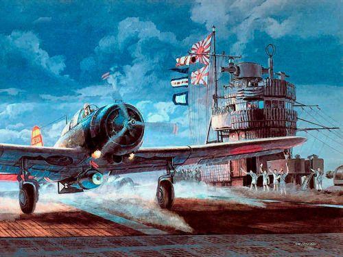 hanspanzer:  IJN Akagi durante el ataque de Pearl Harbor, 1941.