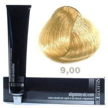 691778 SELECTIVE Oligomineralcream Крем-краска для волос 9.00 очень светлый блондин 100 мл.