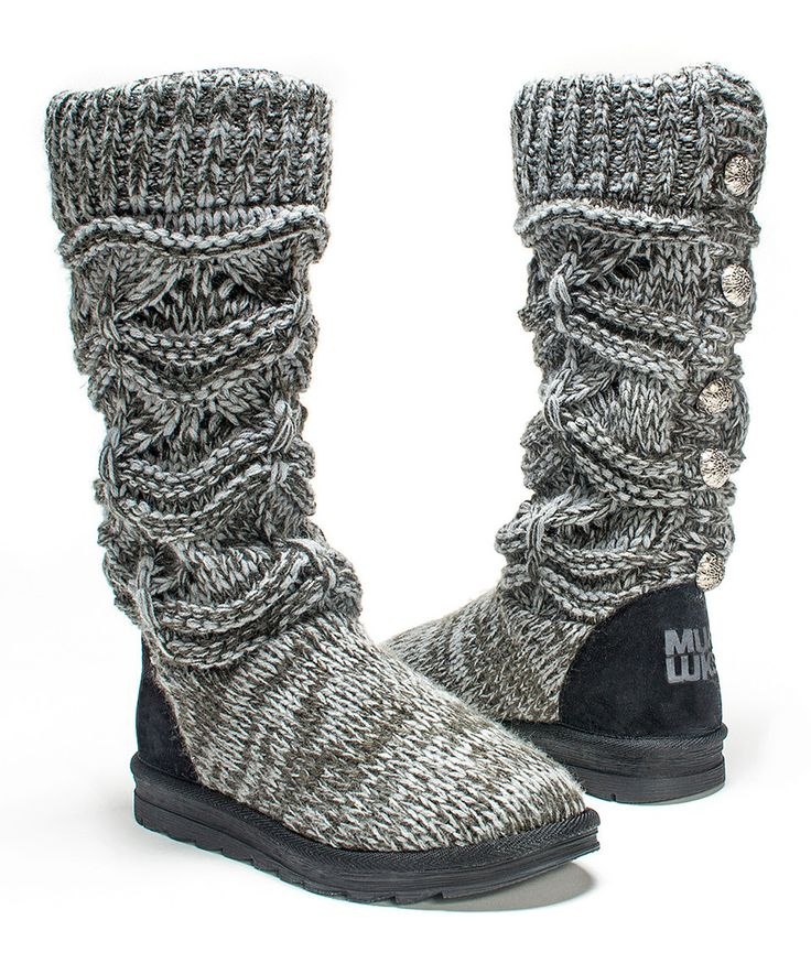Another great find on #zulily! Gray Jamie Sweater Boot by MUK LUKS #zulilyfinds