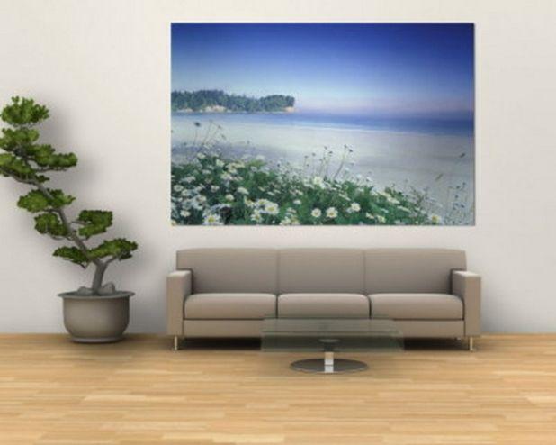 glamorous living room wall painting | living room painting: sweet paintings for living room ...