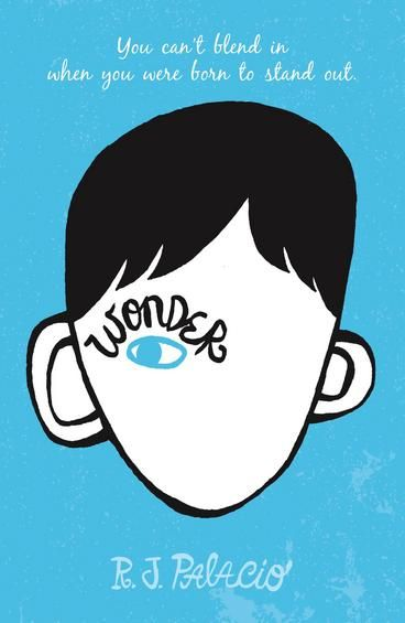 Wonder by R J Palacio.  Auggie wants to be an ordinary ten-year-old. He does ordinary things - eating ice cream, playing on his Xbox. He feels ordinary - inside. But ordinary kids don't make other ordinary kids run away screaming in playgrounds. Ordinary kids aren't stared at wherever they go.