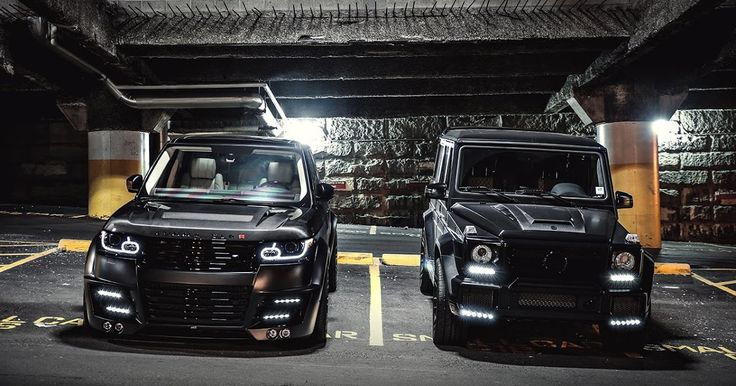 Lumma Design Vogue And BRABUS G63 AMG By SR Auto Group By Marcel Lech  Photography .