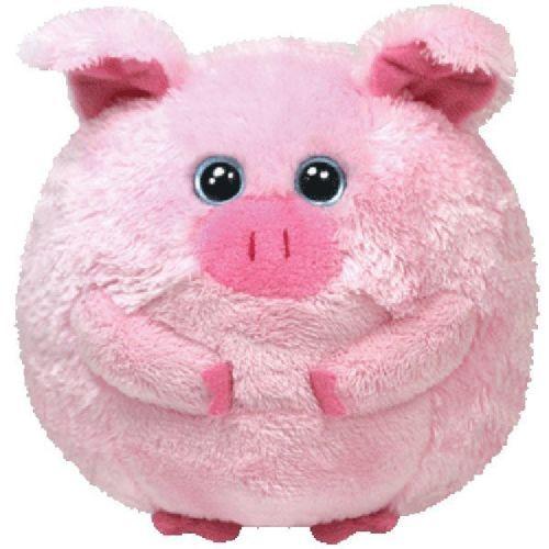 TY Beans the Pig Beanie Ballz Balls