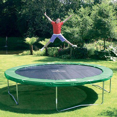 Trampoline! playing popcorn! haha and sleeping out on the trampoline all night. such fun times