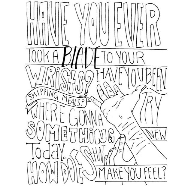 Bring Me The Horizon Coloring Pages