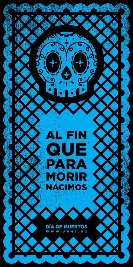Día de muertos by césar castro, via Behance