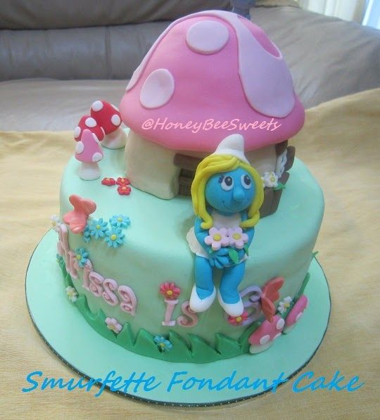 Smurf Birthday Cakes Images