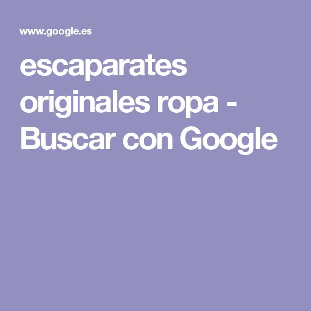 escaparates originales ropa - Buscar con Google