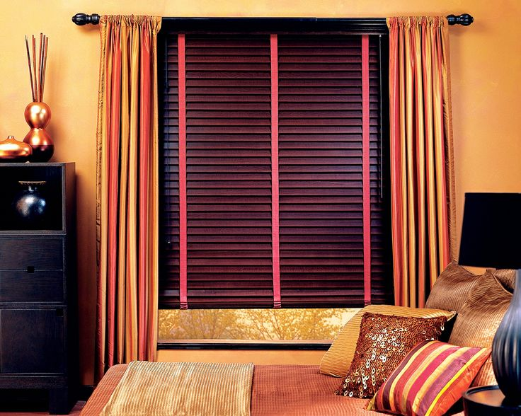 Wood Blinds Are Soothing Natural And Very Attractive A Timeless Combination Which Would Make Bedroom Blindsbedroom Window