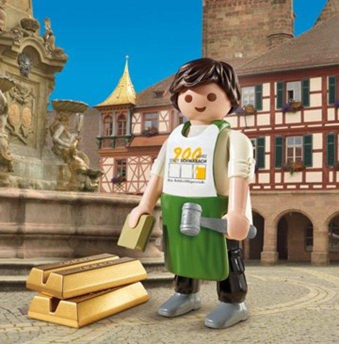 900 Jahre Schwabach Comeback des Playmobil-Goldschlägers im Sommer