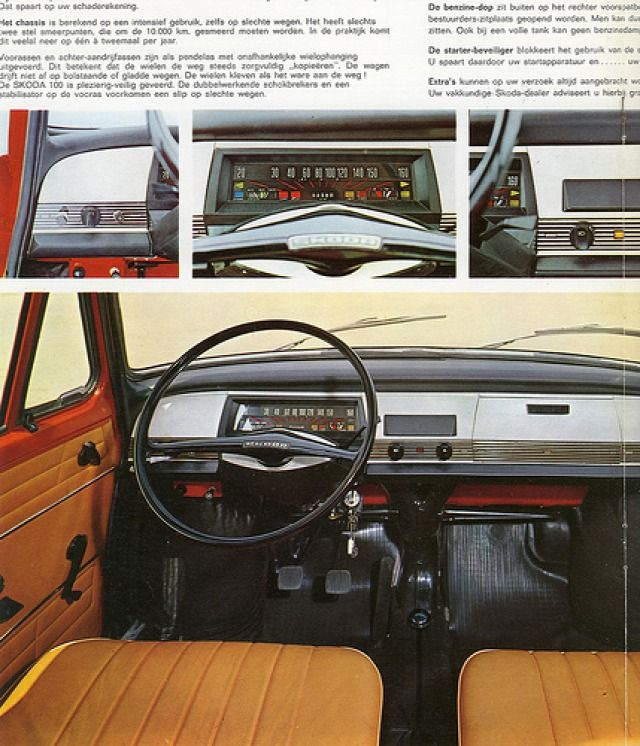 Hátul hajt és hátul hűt. Škoda 100,110 - Keleti_Blog