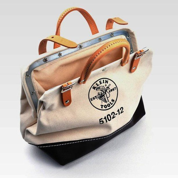 (157) Fancy - Canvas Tool Bag by Klein Tools