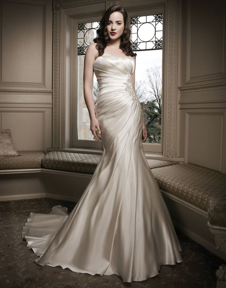 17 best images about justin alexander on pinterest queen for Off the rack wedding dresses near me