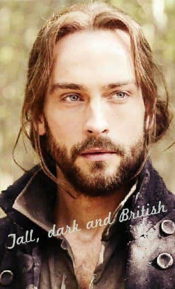 Tall, dark and British. Sleepy Hollow. Tom Mison