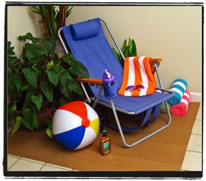 More Unique Decorating Tips  Ideas For A Fun Beach Party