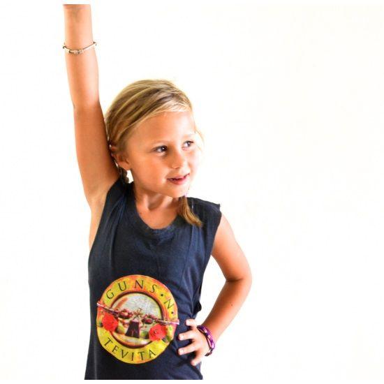 Tevita clothing / Cute kids clothing/fashion / casual tank singlet/ guns and roses print / beach surf street summer style /