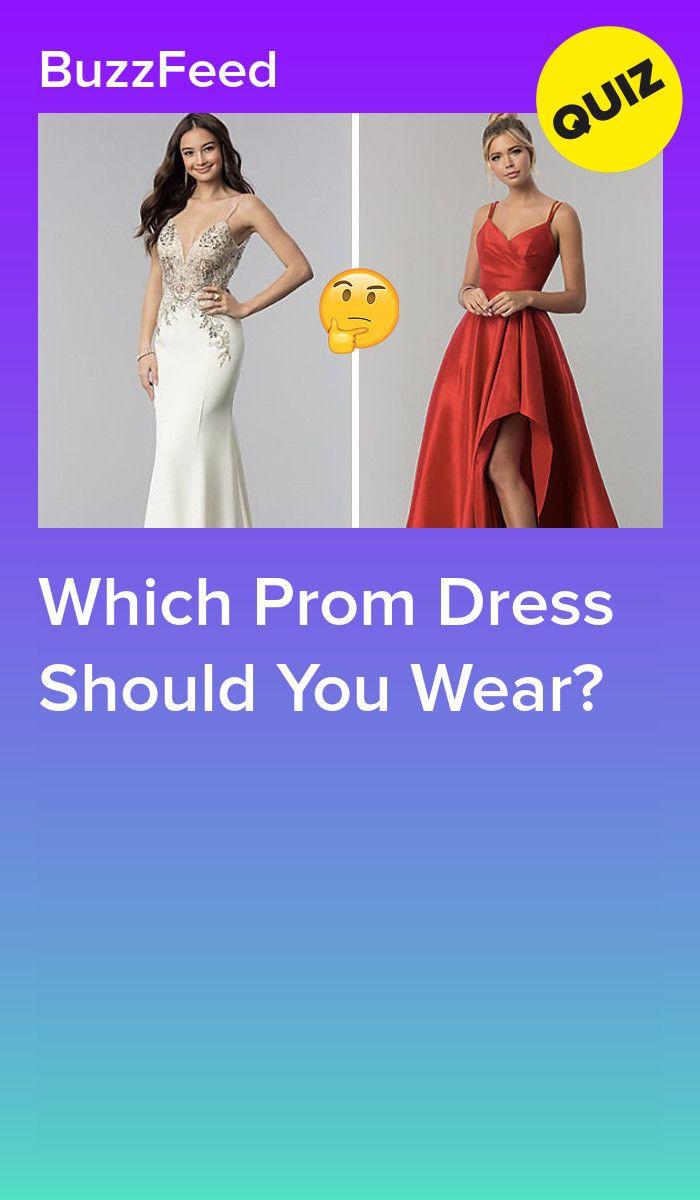 10+ Prom dress quiz info