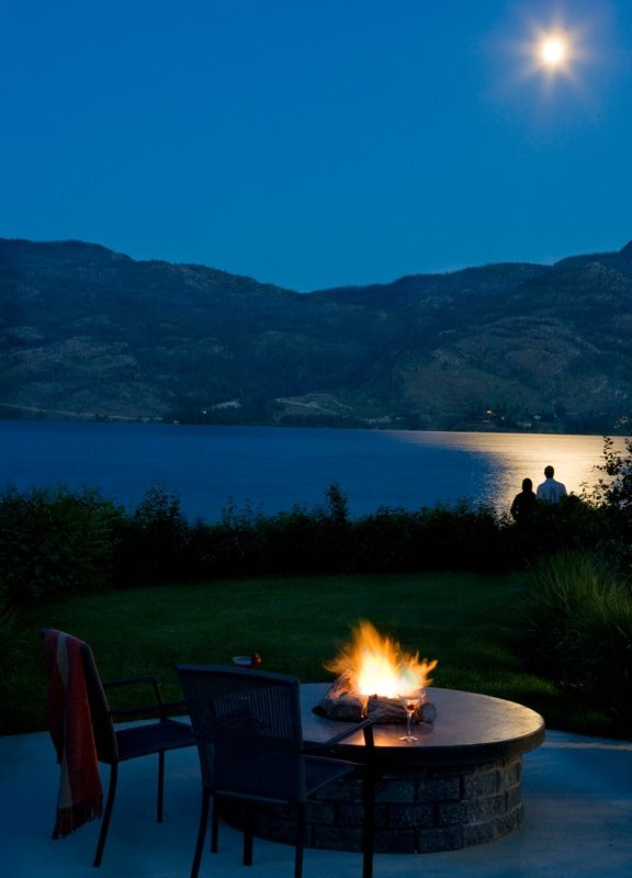 Enjoy our fire pits and some smores by the water while looking up at the stars!