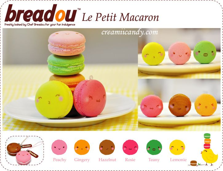 breadou petite macaron cute squishy original packaging buy online hsop Stuff to Buy ...