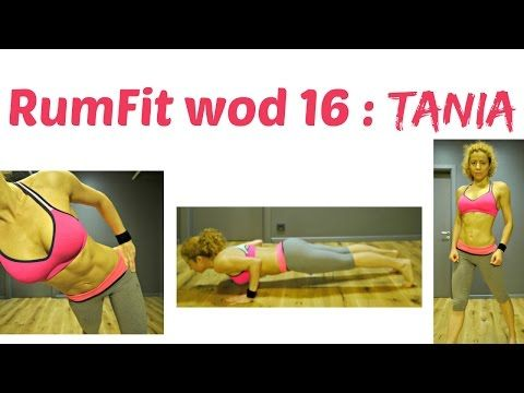 TANIA WOD 16 : RumFit Challenge: Abs And Back Thigh Fat Exercises, Bodyweight Workout, Fast Results - YouTube
