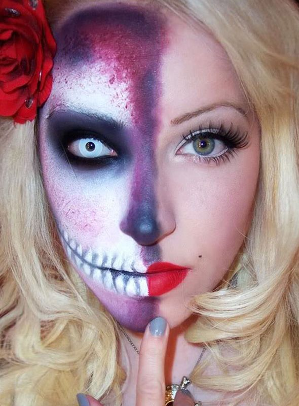 Chata de Galocha! | Lu Ferreira » Arquivos Pra inspirar: maquiagem de Halloween! - Chata de Galocha! | Lu Ferreira