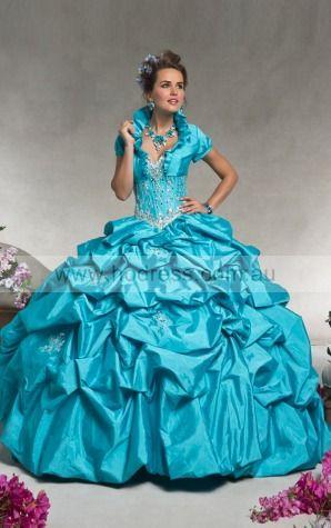 Lace-up Floor-length Natural Ball Gown Taffeta Formal Dresses afka307010--Hodress