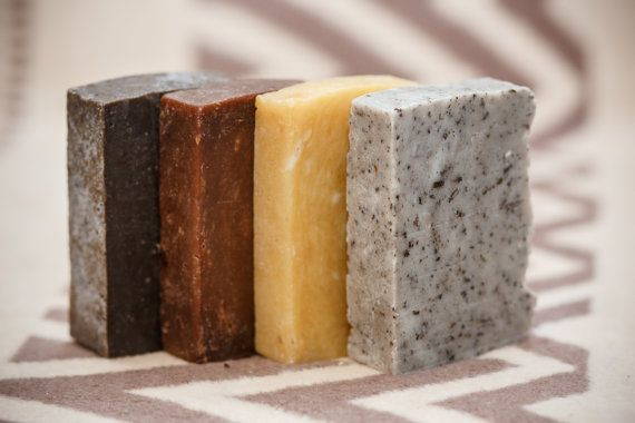 Rustic Sample Pack Soap - 6 Small Samples SOAP - Rustic Soap,All Natural Soap,Handmade Soap,Homemade Soap,Unsected Soap,Christmas sales