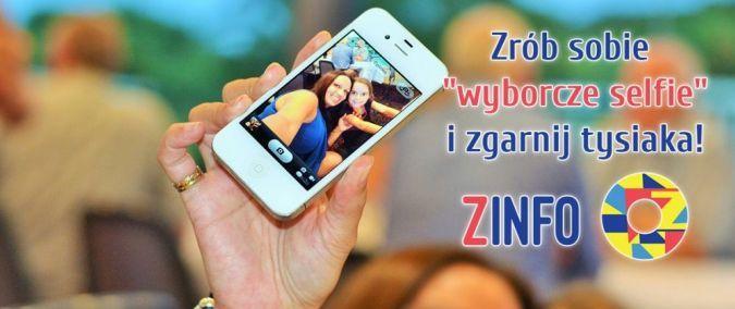 """Poláci lákají mládež k volbám: """"Udělej si volební selfie a vyinkasuj tisícovku!"""" - Zinfo.pl - Zrób sobie wyborcze selfie i zgarnij tysiaka! - http://www.zinfo.pl/artykuly/16773"""