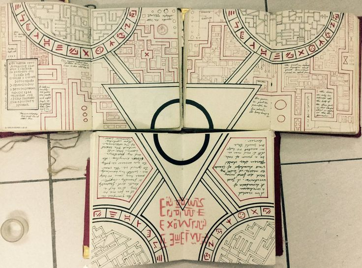 Gravity Falls Journals Replica - Portal pages by leoflynn.deviantart.com on @DeviantArt