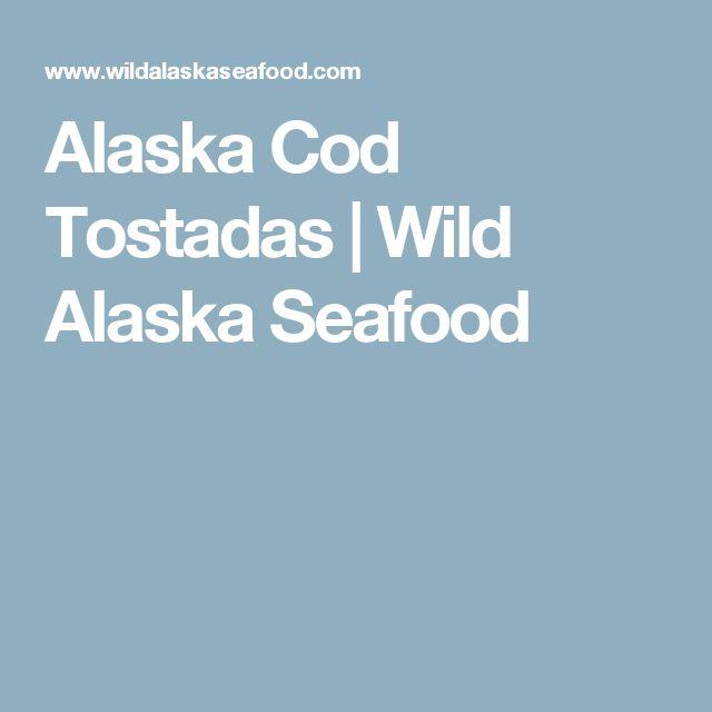 Alaska Cod Tostadas | Wild Alaska Seafood