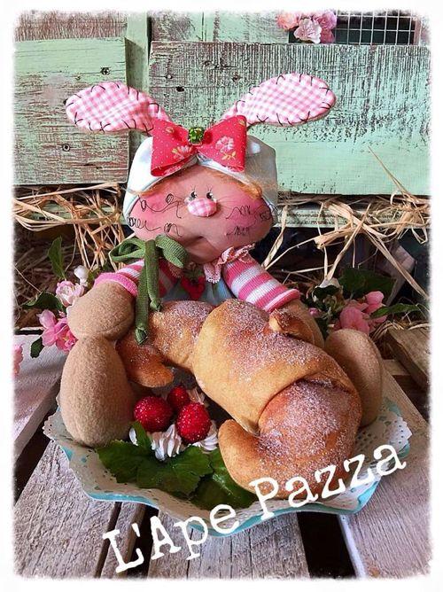 """Cartamodelli Conigli primavera 2016 : cartamodello """"il croissant di Ester"""""""