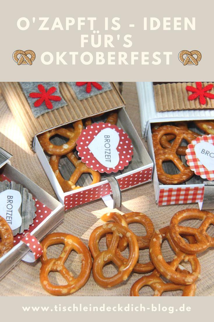 Oktoberfest Ideen
