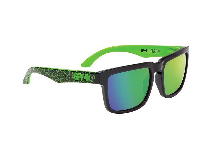 Spy Helm/Assault/Grey w-Green Spectra/57-18 #spy #sunglasses #optofashion  To Spy Helm είναι ένα κοκκάλινο γυαλί ηλίου με πράσινο και γκρι πλαίσιο και πράσινο καθρέφτη. Το μέγεθος και το ορθογώνιο σχήμα του ικανοποιεί τα περισσότερα σχήματα προσώπου. Επέλεξε το Spy Helm/Assault/Grey w-Green Spectra και απόκτησε ένα ιδιαίτερο στυλ.