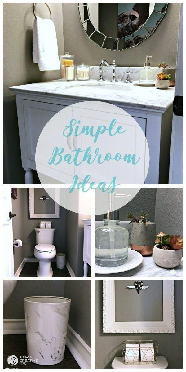 Bathroom Decorating Ideas For A Small On Budget Makeover Simple Accessories S