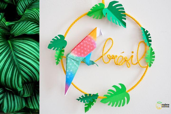Mobile origami : direction tropiques !