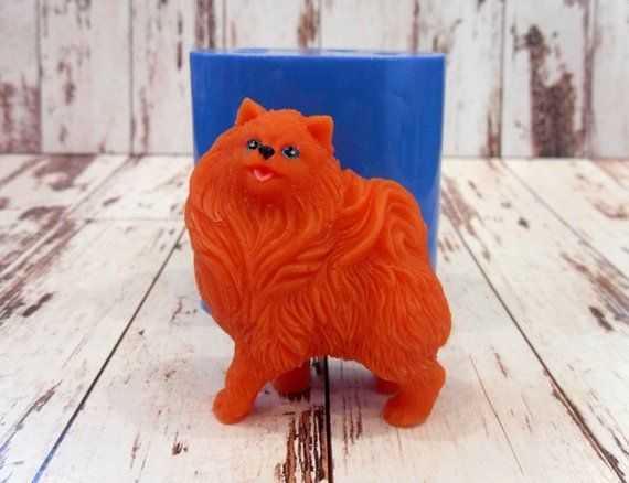 SILICONE SOAP MOLD YORK SOAP BAR MOULD DOG