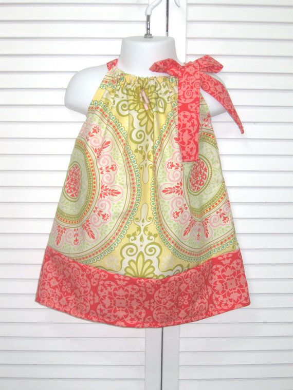 Love this collection of pillowcase dresses. So easy and cute! @Babble