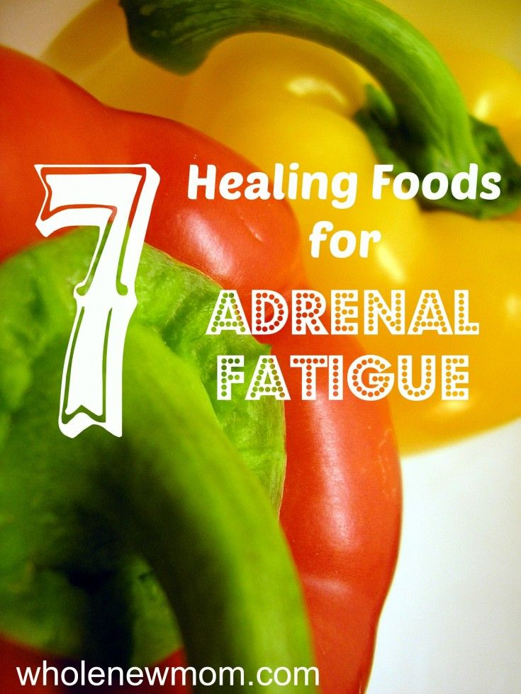 Got Adrenal Fatigue? Add these foods to your adrenal fatigue diet for relief.